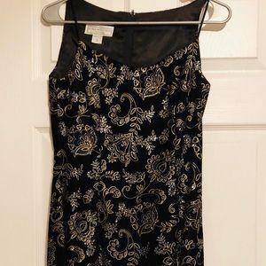 Jessica Mcclintock Evening Mini Dress, Size 3/4